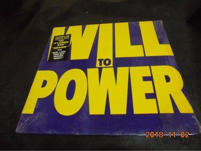 黑膠 WILL TO POWER  全新未拆