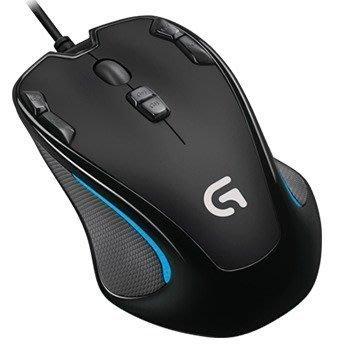 【鳥鵬電腦】Logitech 羅技 G300s 玩家級光學滑鼠 內建記憶設定檔 自訂按鍵 即時切換 DPI 電競