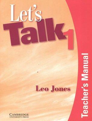 英語會話Lets Talk 1 Teachers Manual   (附Self-Study Audio CD)