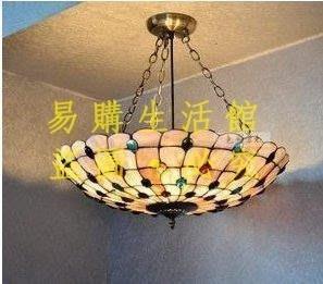 [王哥廠家直销]復古彩色吊燈 貝殼燈飾 客廳臥室書房燈具LeGou_2660_2660