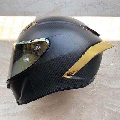 瀧澤部品 AGV大尾翼 pista gp r / corsa r pista gp / corsa 消光 副廠全罩安全帽