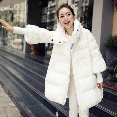 新款棉衣女中長款韓版2018孕婦羽絨棉服A字冬季加厚寬鬆棉襖外套