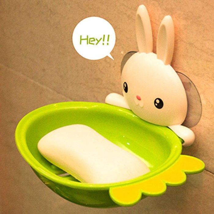 奇奇店-肥皂盒吸盤壁掛式香皂盒浴室衛生間置物架強力可愛瀝水創意肥皂架#構思新巧  #精巧別致 #經久耐用
