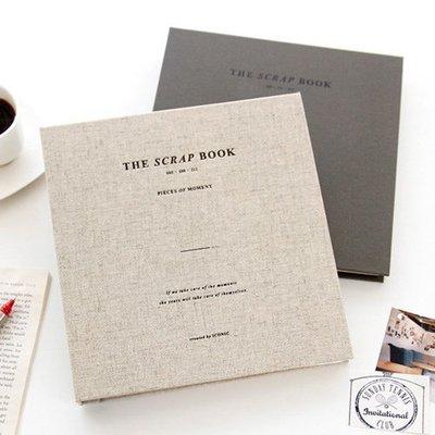 ♀高麗妹♀韓國 Iconic Scrap Book v.2 珍惜回憶 雙線圈空白筆記/素描本/剪貼簿集票券(2色選)預購