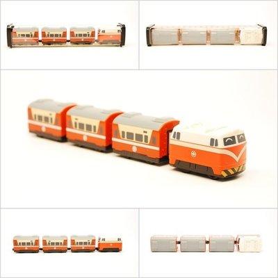 【喵喵模型坊】TOUCH RAIL 鐵支路 Q版 台鐵E200莒光號小列車 (QV009T1)