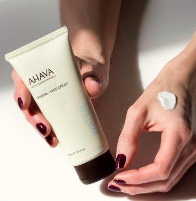 [韓國免稅品代購] AHAVA 愛海礦水護手霜 100ml 以色列死海 mineral hand cream water