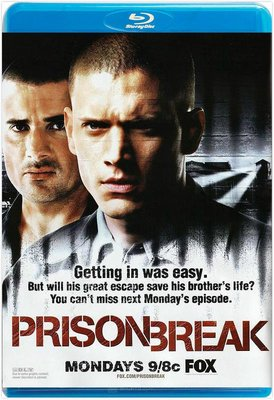【藍光電影】越獄第一季:破繭狂龍  越獄  Prison Break S01 (2005)   共 6碟