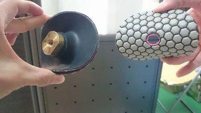 軟式乾磨片 4吋水磨片 可水磨 拋光 研磨 地磚 大理石 陶瓷 石材 金瓜 青石 文石 龍紋 鐵丸 龜甲 砂輪機 水磨機
