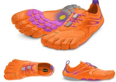 =CodE= VIBRAM FIVEFINGERS BIKILA EVO 多功能五趾鞋(螢光橘紫)赤足跑步 健身拳擊 女