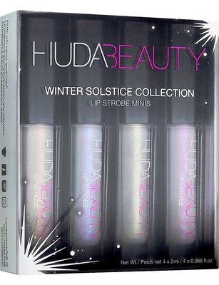 英國代購 HUDA BEAUTY Winter Solstice 迷你唇釉 四色組 英國專櫃正品 2017秋冬新款