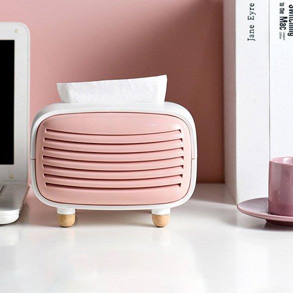 MAJPOINT*收音機創意造型 面紙盒 面紙套 抽取式衛生紙 北歐簡約客廳餐桌 臥室 汽車用品配件 床頭櫃擺件 INS