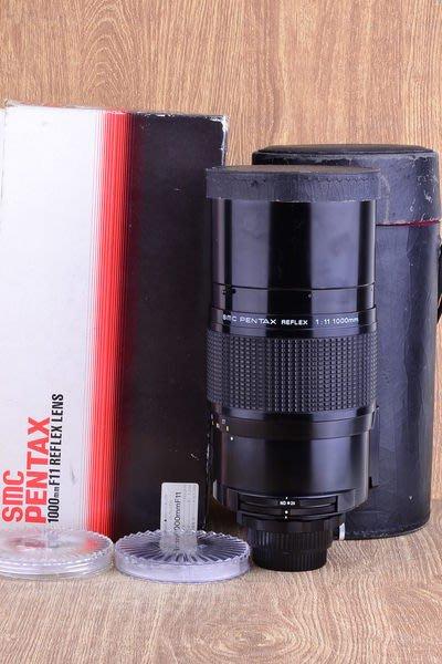 【品光攝影】PENTAX SMC 1000mm F11 REFLEX (1000/11) 波波鏡 反射鏡 定焦 手動 望遠 打鳥 #22686J