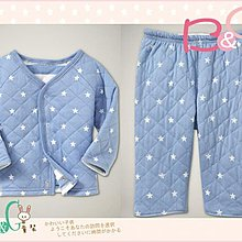 【B& G童裝】正品美國進口GAP雙層棉星星可兩面穿上衣+長褲套裝12-18mos