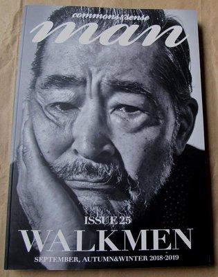日版高端男性流行時尚雜誌 commons & sense man ISSUE 25 (2018-19) : 窪塚洋介