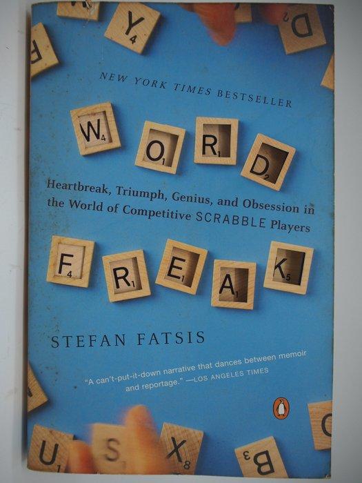 【月界二手書店】Word Freak_Stefan Fatsis_拼字遊戲 〖嗜好〗CIL