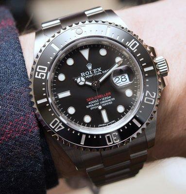 Rolex 勞力士 OYSTER PERPETUAL  SEA-DWELLER 男用機械腕錶