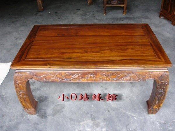 小o結緣館仿古傢俱.......大盆景座''''泡茶桌''''客廳桌106x68x50(雞翅木)
