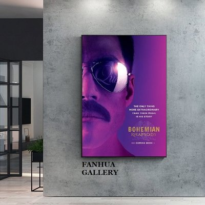 C - R - A - Z - Y - T - O - W - N Bohemian Rhapsody波希米亞狂想曲電影海報封面掛畫奧斯卡最佳電影裝飾畫臥室掛畫