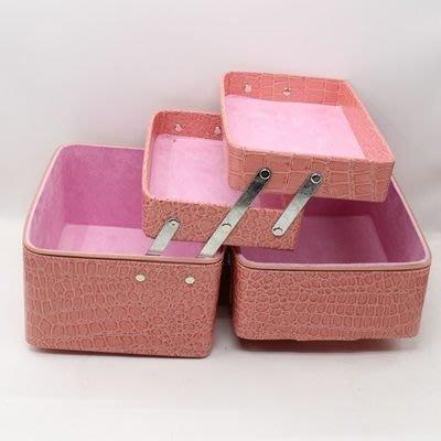 化妝箱 隨身收納包-專業大容量好收納PU女防水袋8色73d10[獨家進口][巴黎精品]