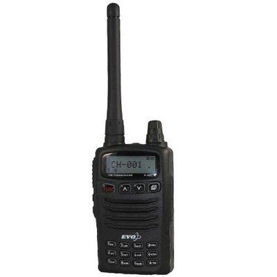 《實體店面》EVO P-201 業餘對講機 單頻 VHF 手持式對講機 LCD液晶顯示 P201 有收音機 低電壓警告