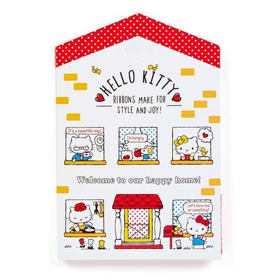 Sanrio 日本正版 Hello Kitty 信紙 信封 貼紙 Set (屋)