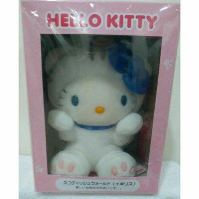 三麗鷗日本HELLO KITTY絕版盒裝娃娃玩偶