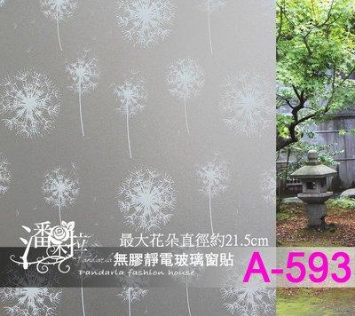 [潘朵拉玻璃窗貼專賣]A-593每才2...
