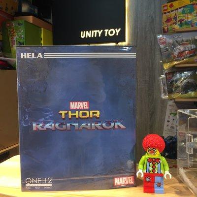 MEZCO TOYZ ONE:12 COLLECTIVE Ragnarok Hela (Unity Toy)