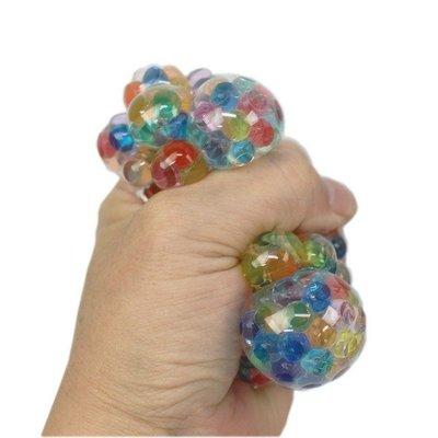 水晶珠舒壓球 水晶寶寶葡萄球/一盒12個入(促30) 水晶珠發洩球 紓壓水晶寶寶球 發洩玩具 擠壓球 捏捏樂 減壓QQ球