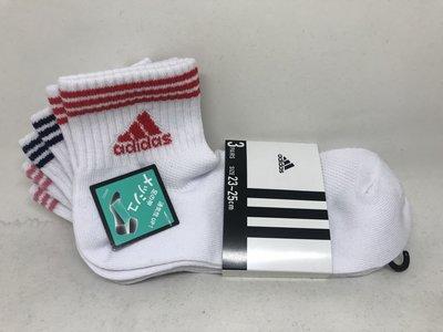 日本 adidas 透氣舒適小短襪三件組