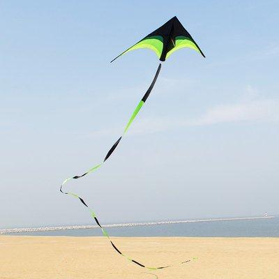 草原濰坊風箏線輪套裝大型三角成人初學者 微風易飛兒童新款戶外玩具