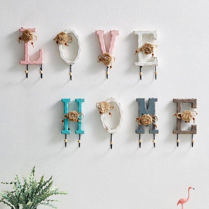 〖洋碼頭〗創意牆上鑰匙架壁掛衣帽掛鉤牆壁客廳服裝店牆面門口壁掛小裝飾品 fjs513