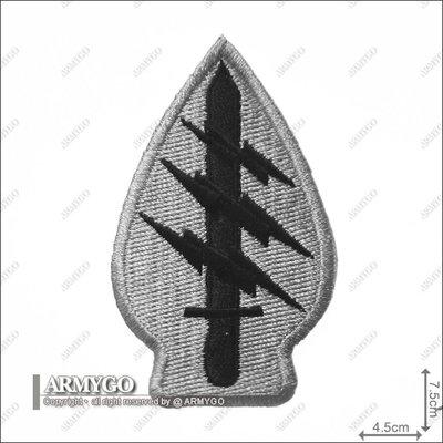 【ARMYGO】美軍綠扁帽特種部隊 (灰色版)