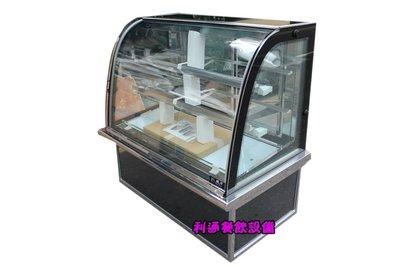 《利通餐飲設備》瑞興 圓形蛋糕展示冰箱 彩玻四尺蛋糕櫃 冷藏櫃