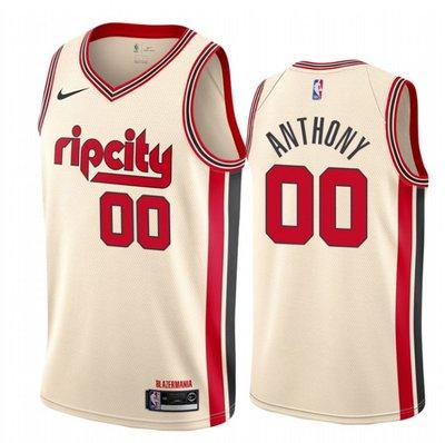 卡梅羅·安東尼(Carmelo Anthony)NBA波特蘭拓荒者隊 球衣 城市版 00號