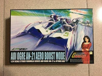 正版 青島 初版 金證 1/24 閃電霹靂車 OGRE AN-21 凰呀 加速模式 AERO BOOST MODE 全新