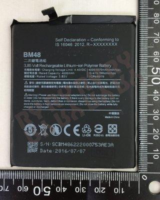 小米 note2  電池 BM48 完修價 600元-Ry台中南屯維修網