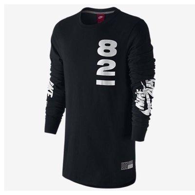 NIKE AIR長袖T恤 黑 S全新 正品 821 公司貨 薄長T S號
