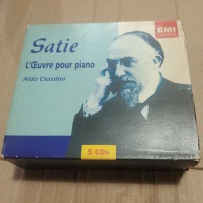 EMI Satie lceuvre pour piano 5CD 90新以上 6