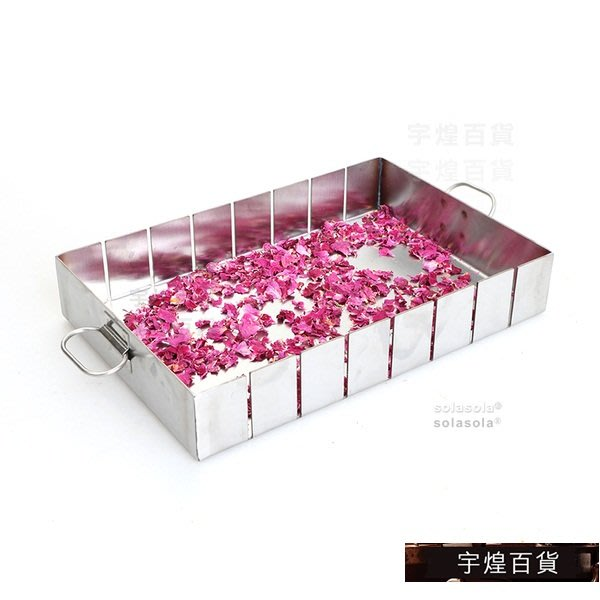 宇煌百貨-切條牛軋糖長方形雪花餅定型盤分割模具不含切刀diy烘培用品_6NV7