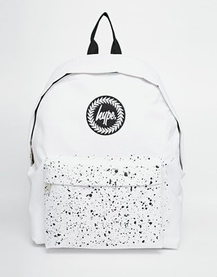 HYPE Backpack with Speckle 黑潑漆 後背包 白 黑 anello 現貨
