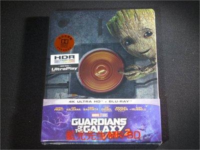 [4K藍光BD] - 銀河守護隊2 (星際異攻隊2) Guardians of the Galaxy 2 UHD + BD 雙碟鐵盒版