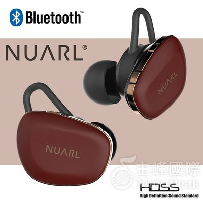 【公司貨】NUARL N6 PRO N6PRO 真無線耳機 藍牙耳機 無線耳機 真無線藍牙耳機 藍芽耳機 含麥克風 紅