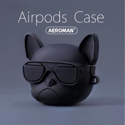 airpods pro 保護套 3代 法鬥 法國 鬥牛犬 黑 紅 白色 科基 科基犬 嘻哈柴犬