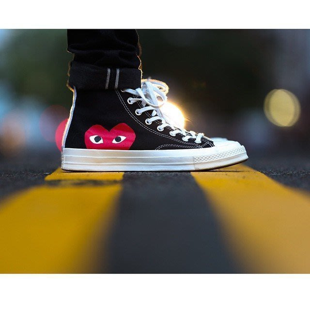 ☆AirRoom☆【現貨】CONVERSE COMME DES GARCONS PLAY CDG 高筒 愛心 川久保玲