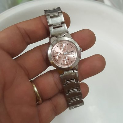 <8888尋寶屋>三眼樣式錶 女錶 非Rolex ORIENT 機械錶 SEIKO OMEGA 三眼錶S1