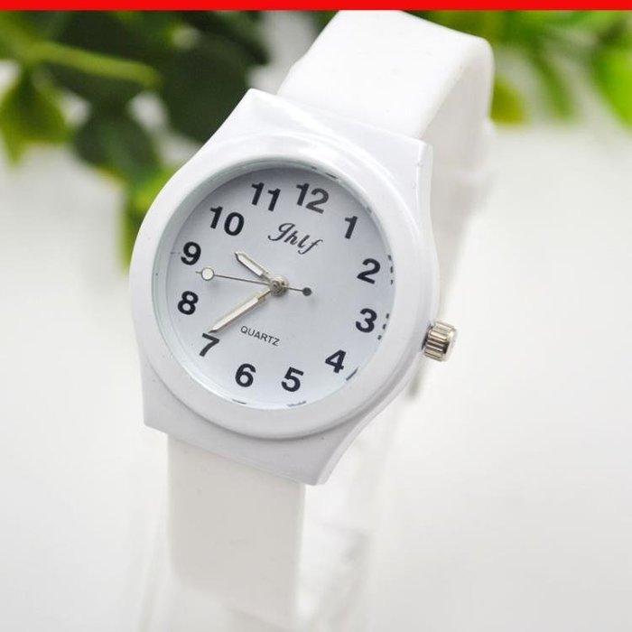 韓國潮女大學生簡約小清新韓版潮流行考試手錶情侶數字時尚復古男限時促銷!