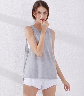 愛運動~新款速乾運動背心/跑步健身上衣寬鬆罩衫 美背訓練瑜伽背心  R2767