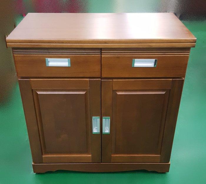 宏品二手家具 中古傢俱大賣場 SC211CGJ樟木色3尺餐櫃*收納櫃 隔間屏風櫃 展示櫃 高低櫃 電視櫃 平面櫃 置物櫃