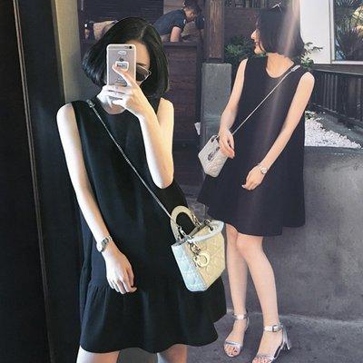 韓❤大碼寬鬆荷葉邊雪紡連身短洋裝 GSSAW.AJ 【JKQ0427】灰色M現貨 黑2XL 現貨
